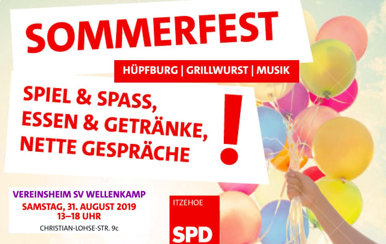 Sommerfest der SPD Itzehoe